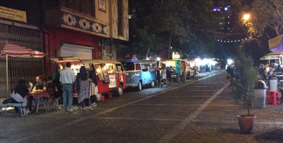 تفریحات شبانه در تهران