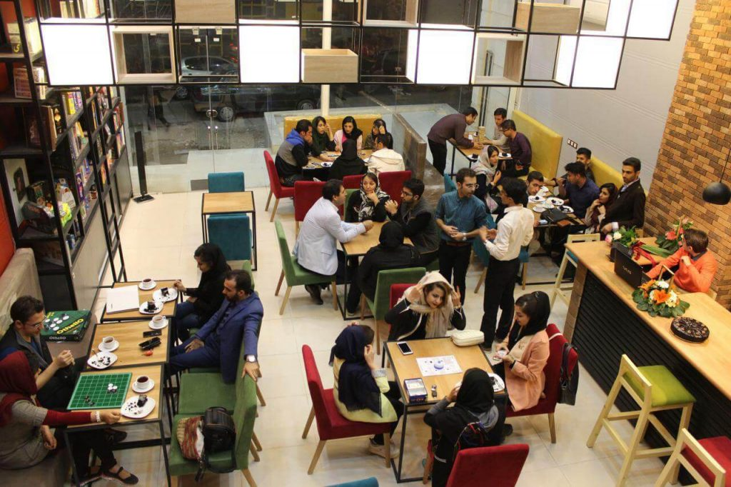 کافه های بازی فکری در تهران
