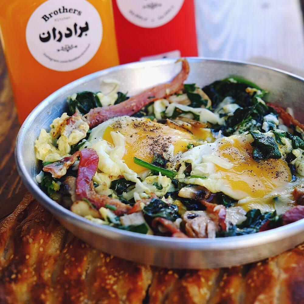 آشپزخانه برادران - بهترین صبحانه های تهران