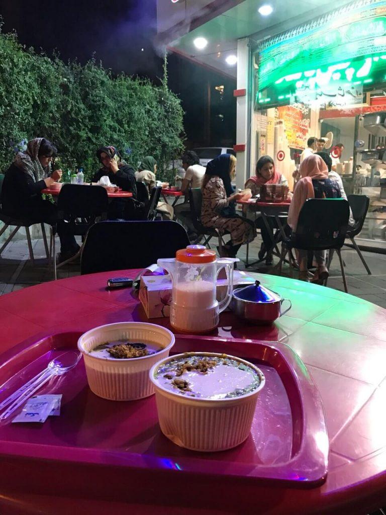 آش و حلیم دارچین - بهترین صبحانه های تهران
