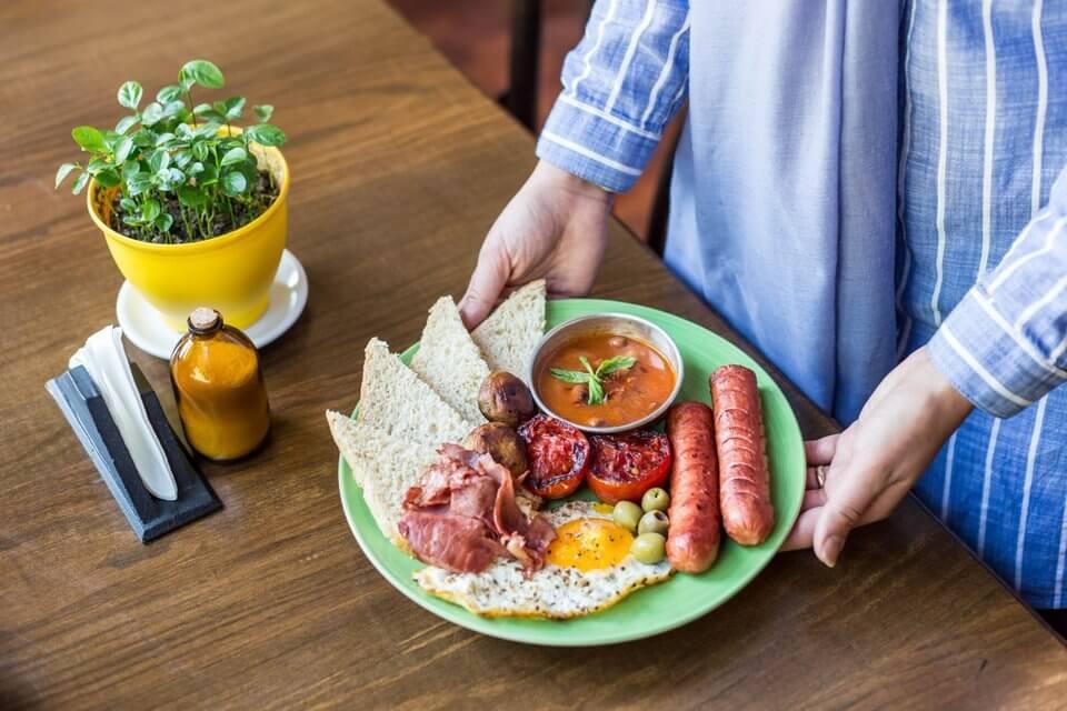 کافه سه لت - بهترین صبحانه های تهران