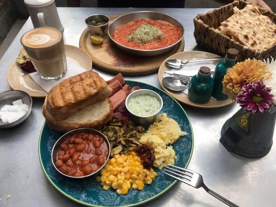 شنفدیدارجای - بهترین صبحانه های تهران