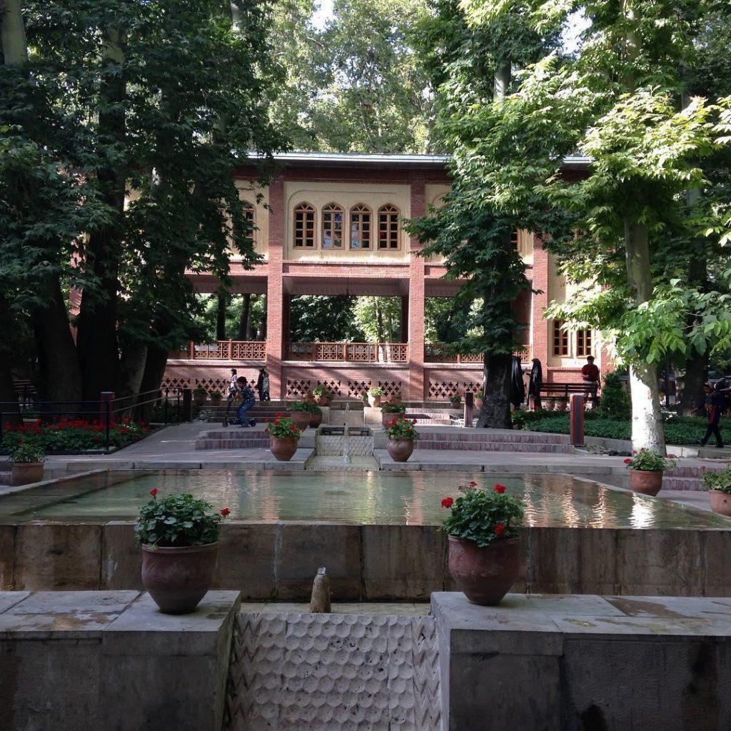 باغ ایرانی - تهرانگردی در نوروز