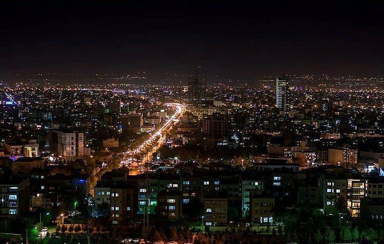 بام ولنجک - تفریحات تهران در تعطیلات نوروز