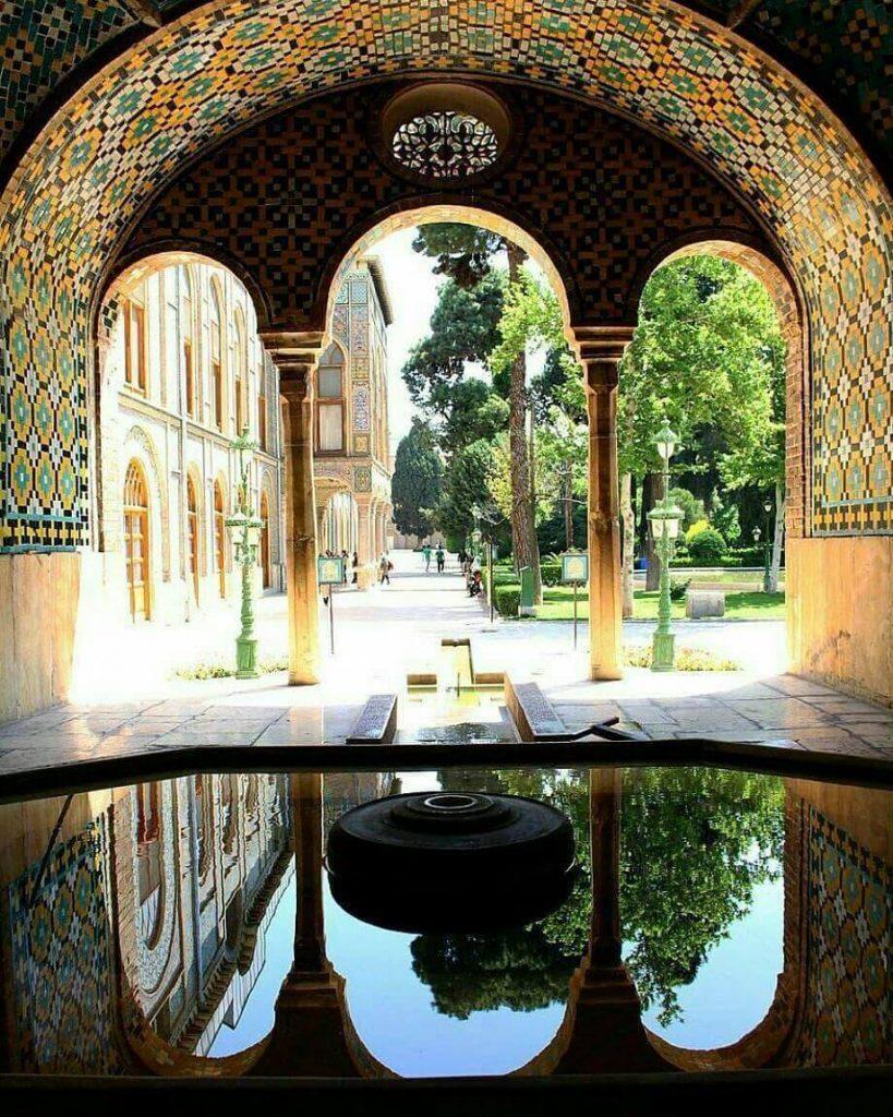 کاخ گلستان-تفریحات نوروزی در تهران