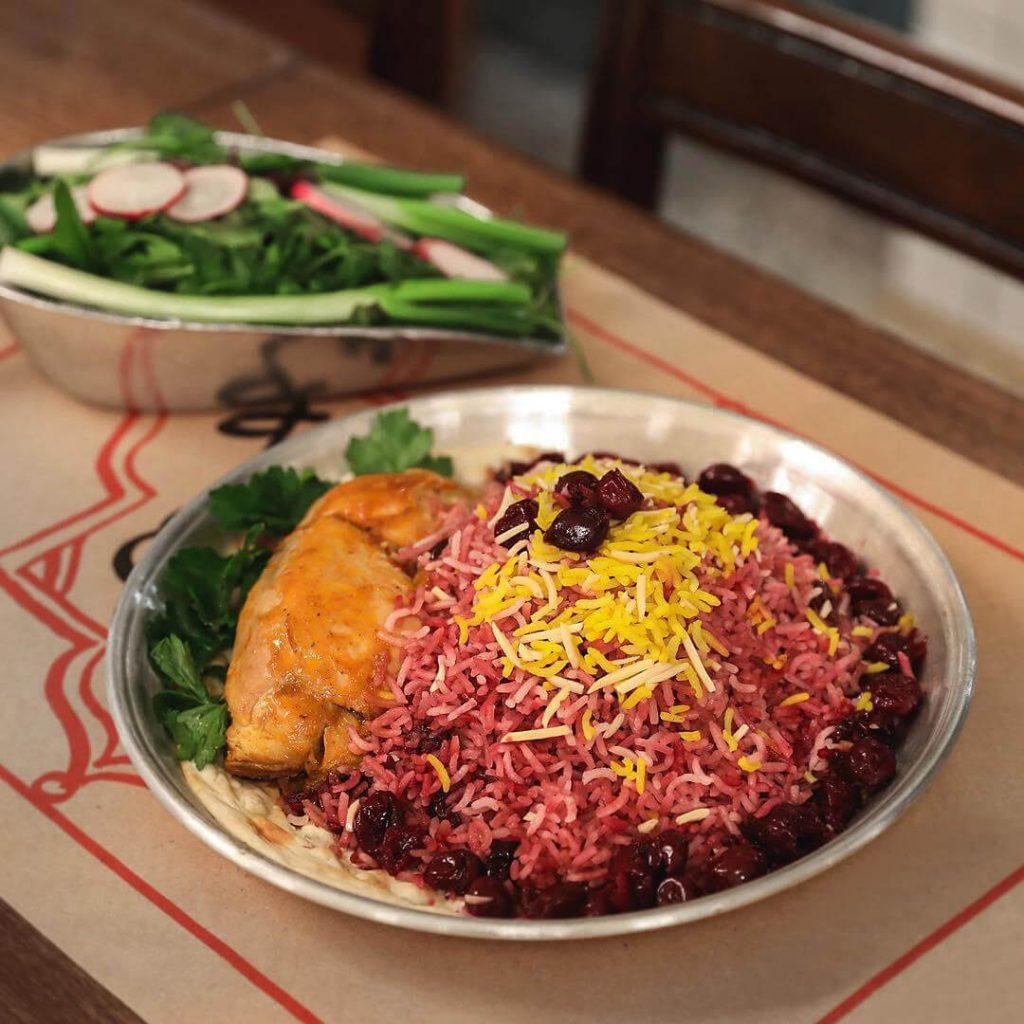 رستوران باغ نگارستان-تهرانگردی در تعطیلات نوروز