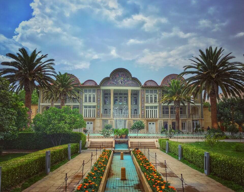 باغ ارم-جاهای دیدنی شیراز
