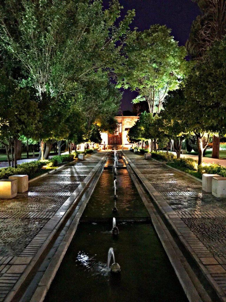 باغ جهان نما جاهای دیدنی شیراز